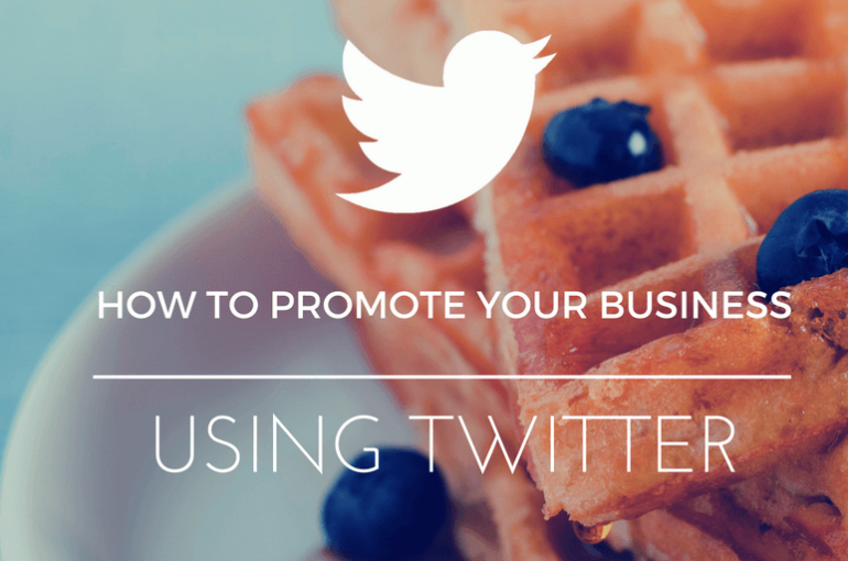 4 ways to promote your business using Twitter